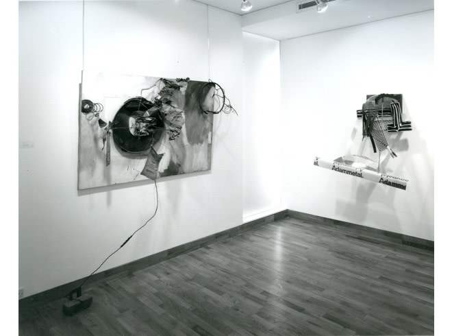"""<span class=""""link fancybox-details-link""""><a href=""""/exhibitions/258/works/image_standalone1338/"""">View Detail Page</a></span><p>A TRIBUTE TO LEO CASTELLI   16 APR - 17 MAY 1985   Installation View</p>"""