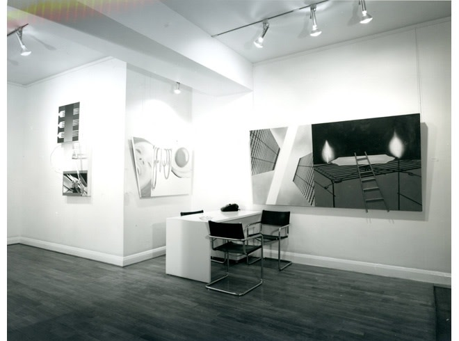 """<span class=""""link fancybox-details-link""""><a href=""""/exhibitions/301/works/image_standalone1501/"""">View Detail Page</a></span><p>JAMES ROSENQUIST   29 NOV - 21 DEC 1978   Installation View</p>"""