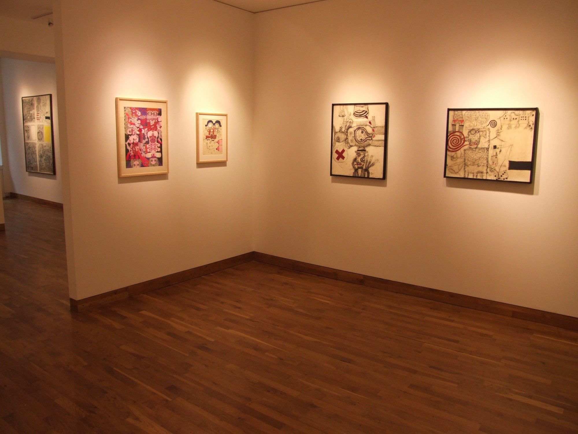 """<span class=""""link fancybox-details-link""""><a href=""""/exhibitions/98/works/image_standalone349/"""">View Detail Page</a></span><p>THE ELEGANT LIFE OF KEY HIRAGA   A JAPANESE ARTIST IN EUROPE 1965 - 1974   28 MAY - 18 JUL 2008   Installation View</p>"""