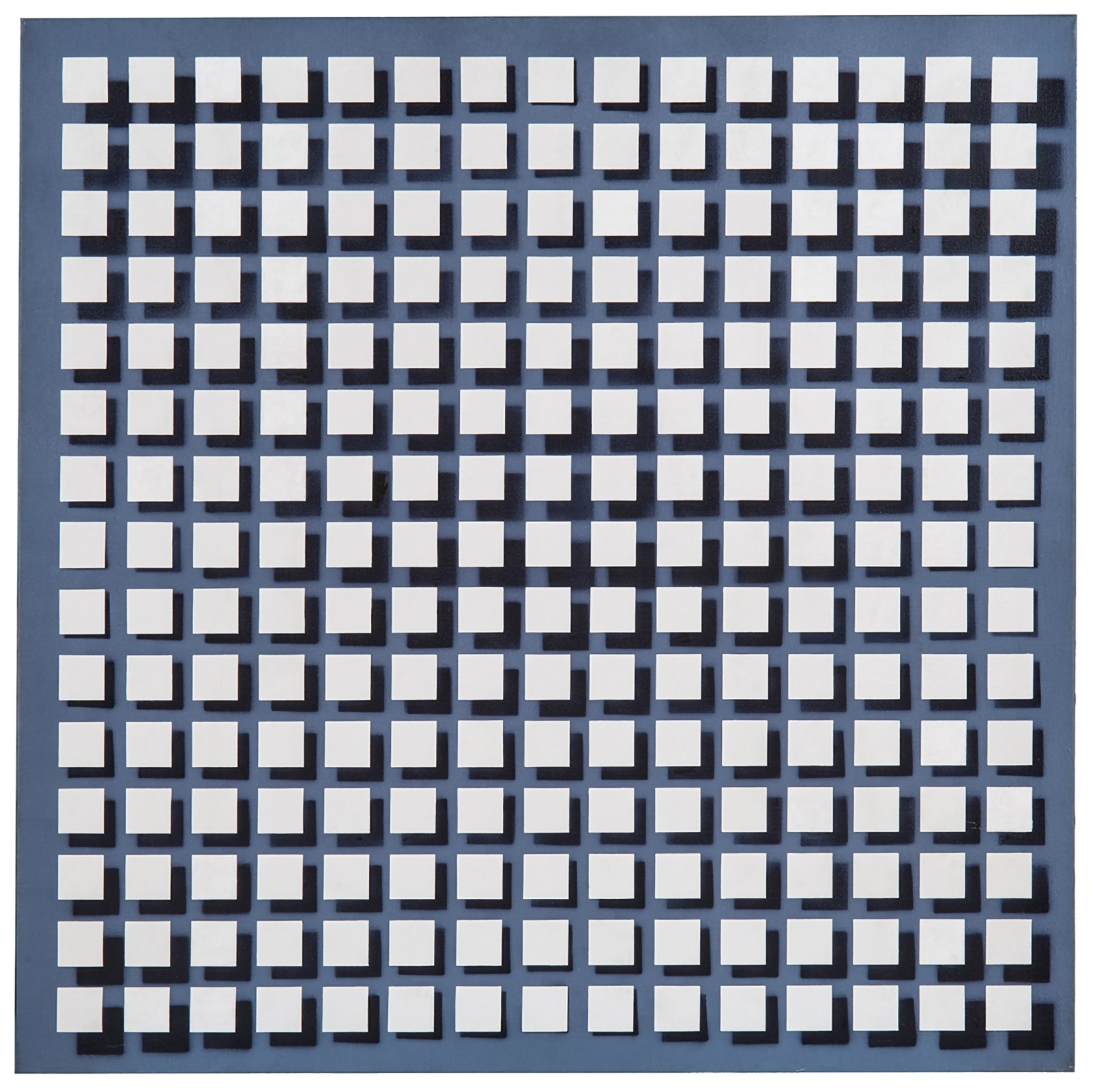 """<span class=""""link fancybox-details-link""""><a href=""""/artists/92-julio-le-parc/works/10887/"""">View Detail Page</a></span><div class=""""artist""""><span class=""""artist""""><strong>JULIO LE PARC</strong></span></div><div class=""""title""""><em>Modulacion 114B</em>, 1976</div><div class=""""signed_and_dated"""">Signed and dated on the reverse</div><div class=""""medium"""">Acrylic on canvas</div><div class=""""dimensions"""">120 x 120 cm <br /> 47 ¼ x 47 ¼ inches</div>"""