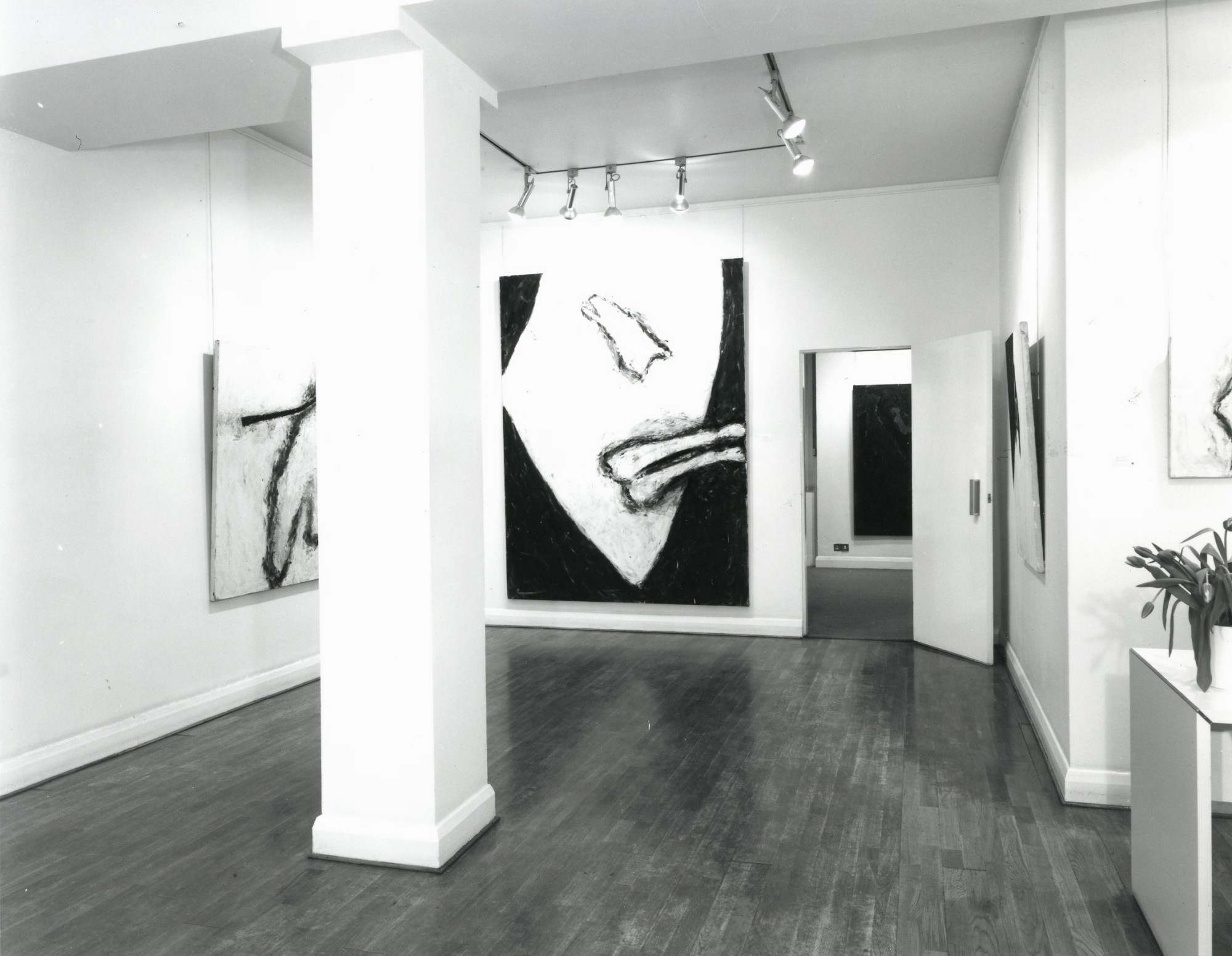 """<span class=""""link fancybox-details-link""""><a href=""""/exhibitions/297/works/image_standalone1487/"""">View Detail Page</a></span><p>SUSAN ROTHENBERG   RECENT PAINTINGS   12 FEB - 15 MAR 1980   Installation View</p>"""