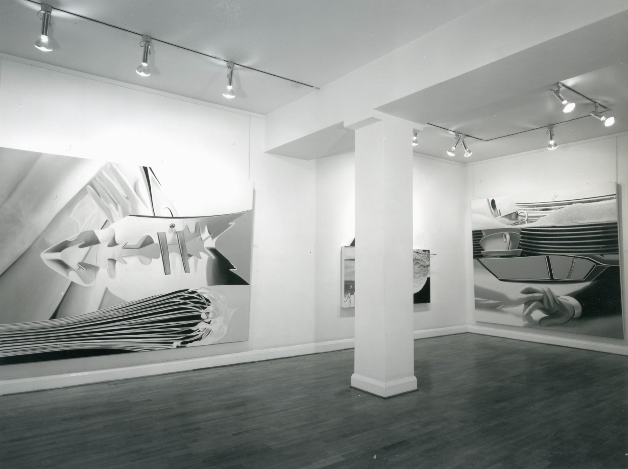 """<span class=""""link fancybox-details-link""""><a href=""""/exhibitions/301/works/image_standalone1502/"""">View Detail Page</a></span><p>JAMES ROSENQUIST   29 NOV - 21 DEC 1978   Installation View</p>"""