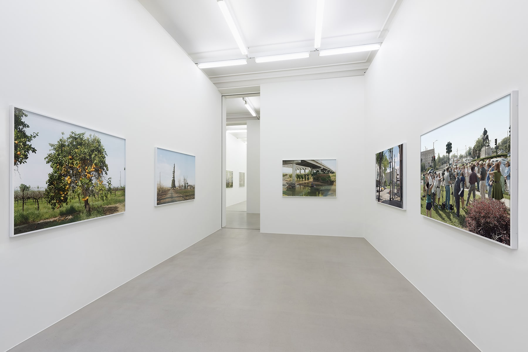"""Installation view of """"Silent General"""" by An-My Le at MGG London"""