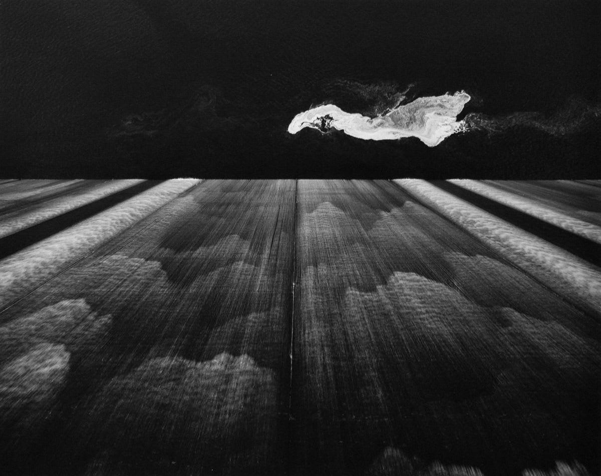 #48 Painting/Falling Water - Toshio Shibata