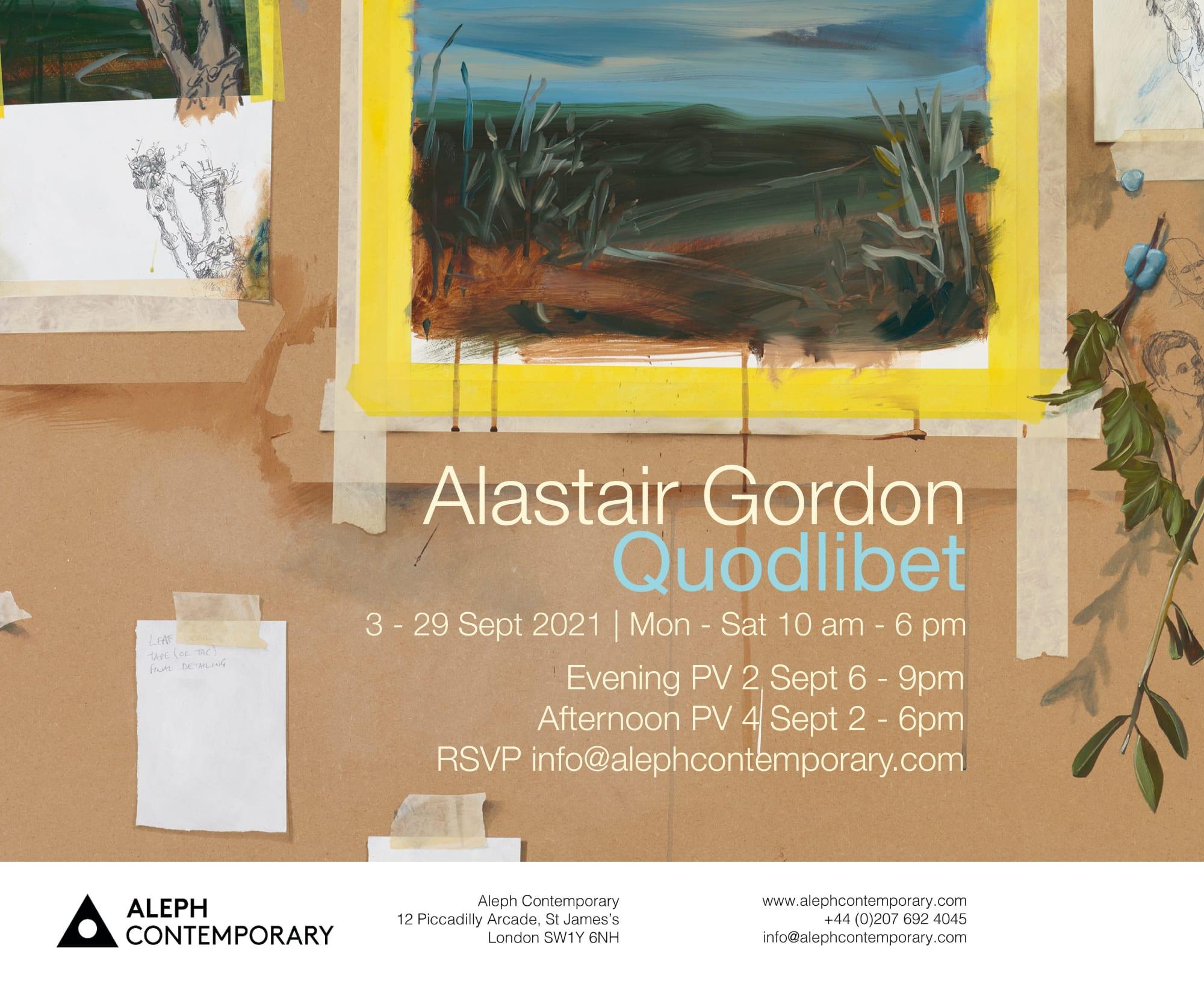 'Quodlibet' : Alastair Gordon