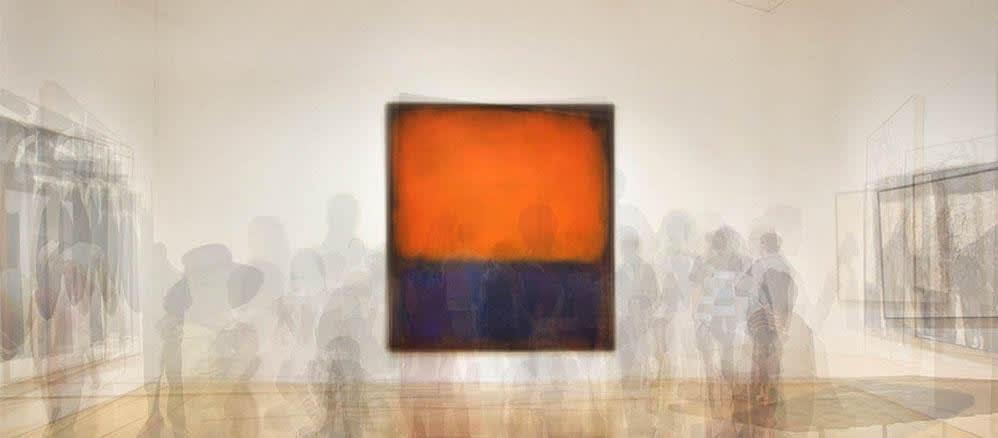 Pep Ventosa, Rothko SFMOMA. Californian Artist. Catalan Artist