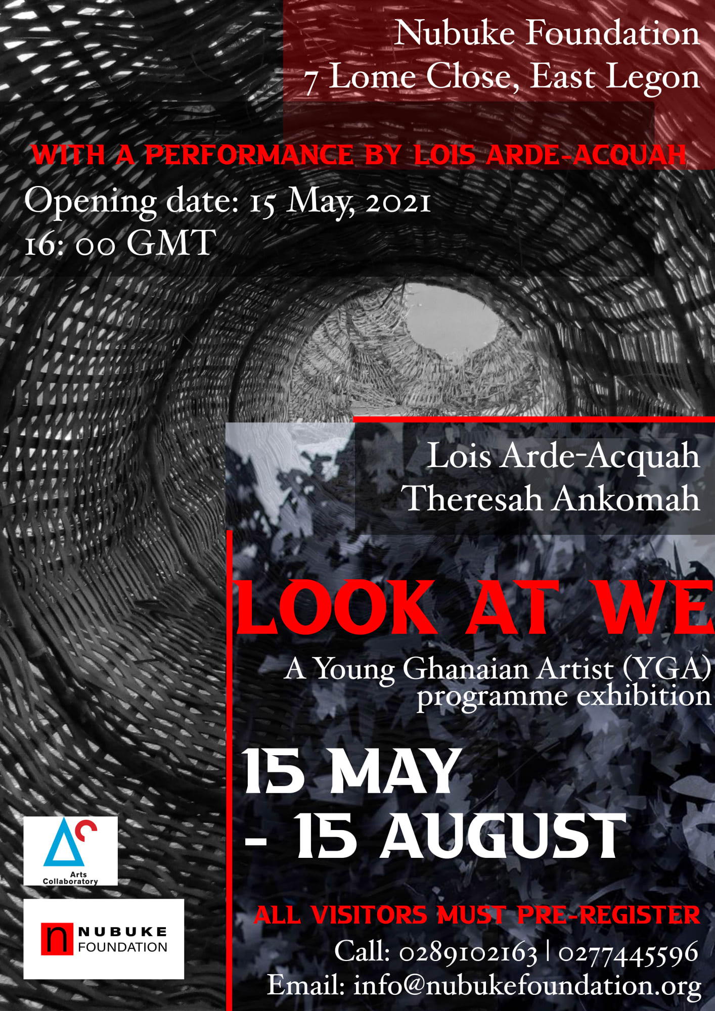 UPCOMING EXHIBITION: LOOK AT WE