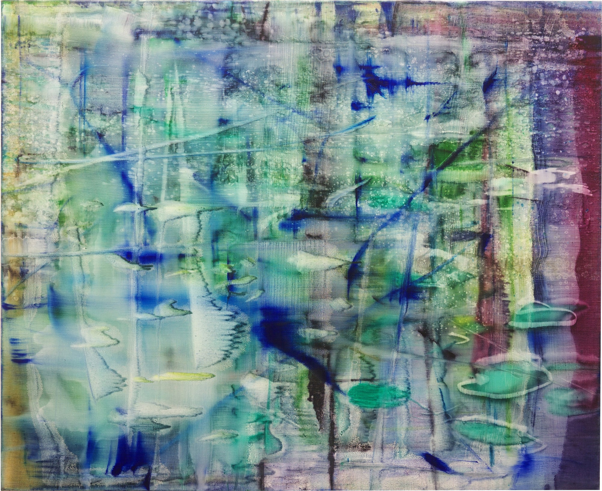 Matthias Meyer: Ponds and Blossoms