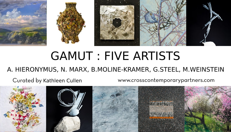 GAMUT: FIVE ARTISTS
