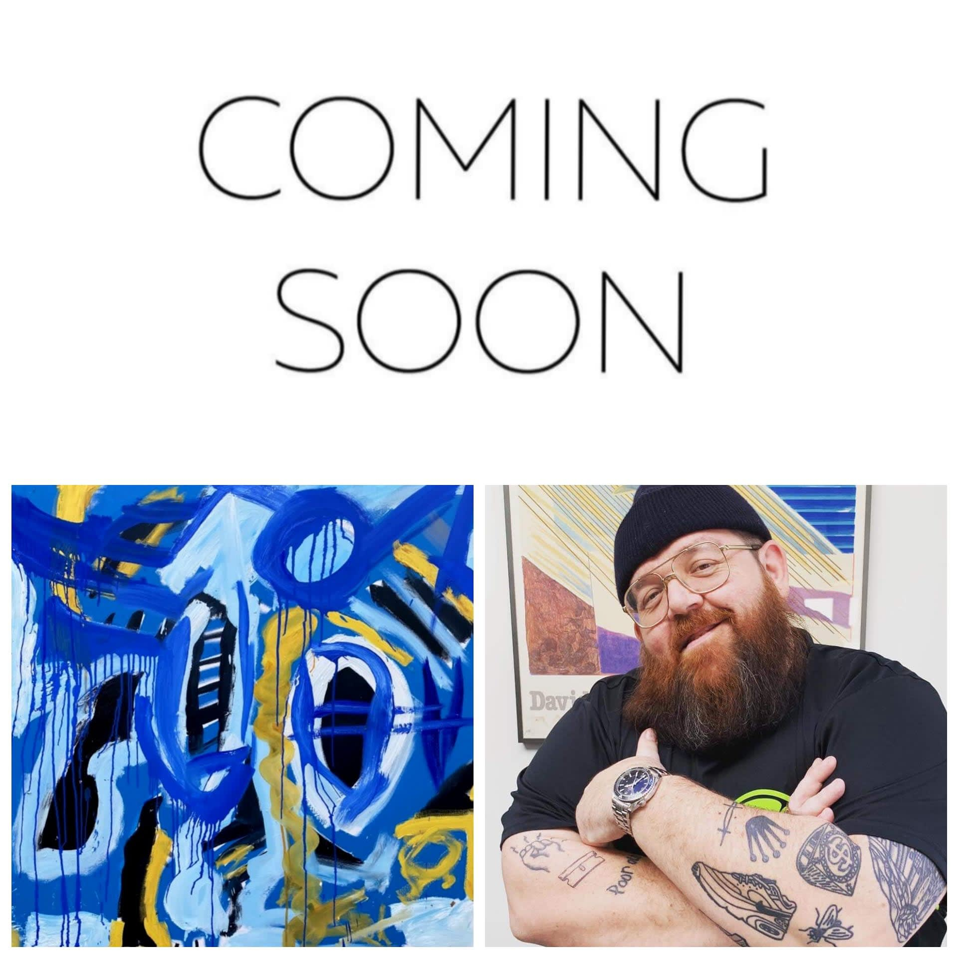 Nick Frost: New Paintings Added