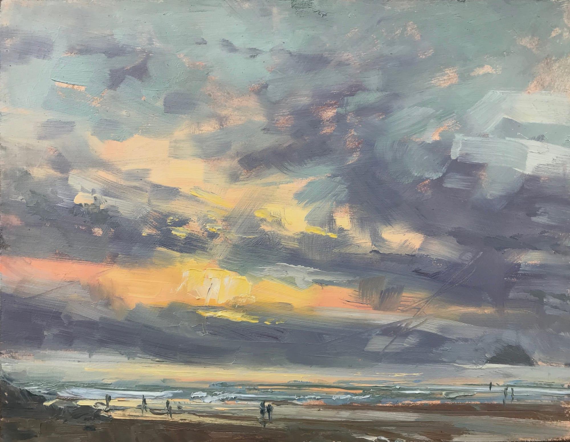 Georgina Potter: Stormy Skies, Polzeath