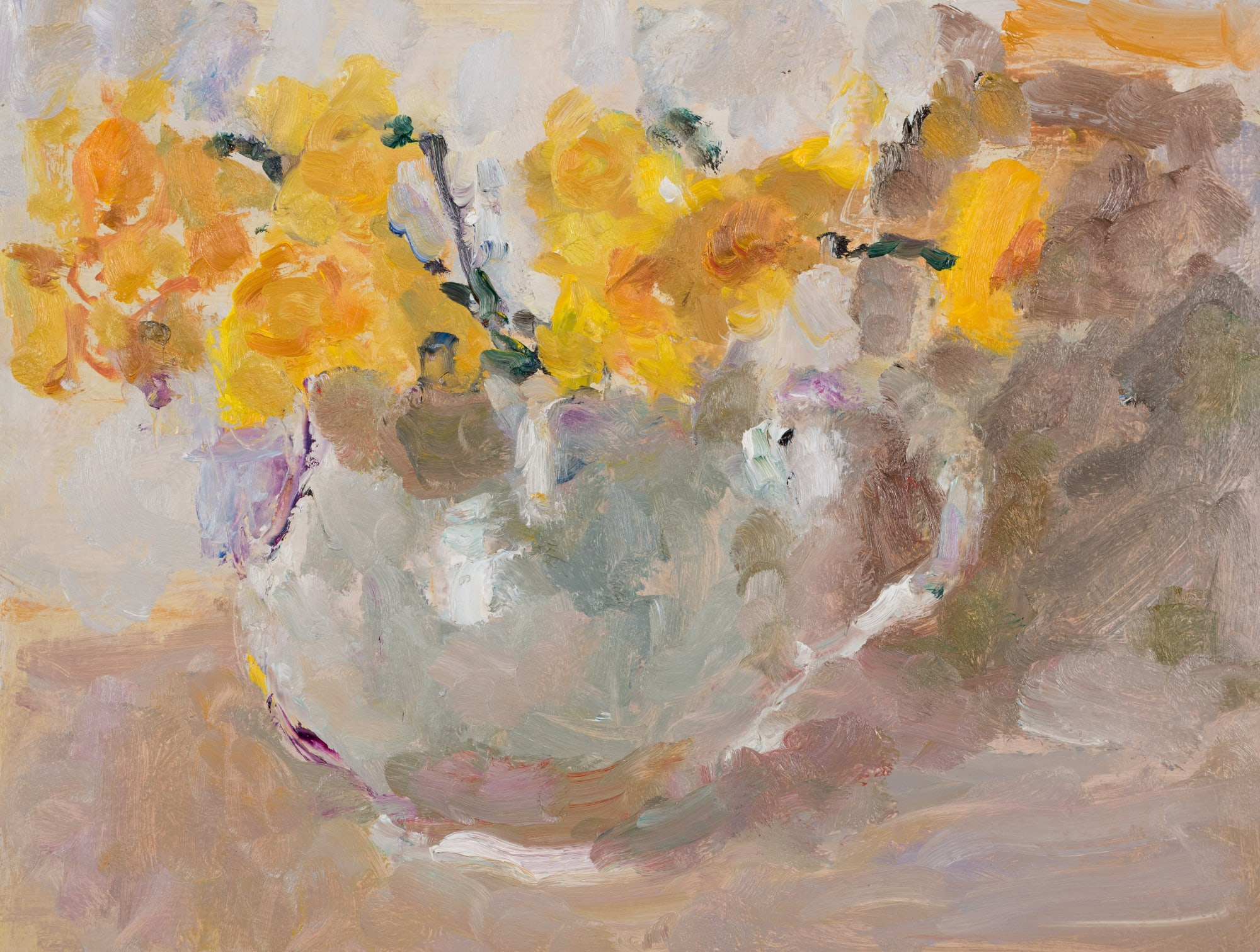 Lynne Cartlidge: NARCISSI, SHADOWS AND REFLECTED LIGHT