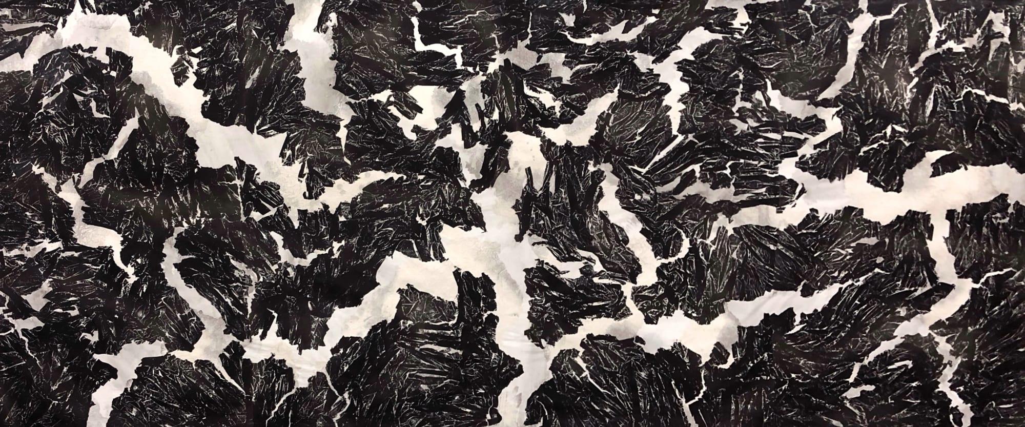 Qiu Deshu 仇德樹 Fissuring 2018 Galerie Du Monde