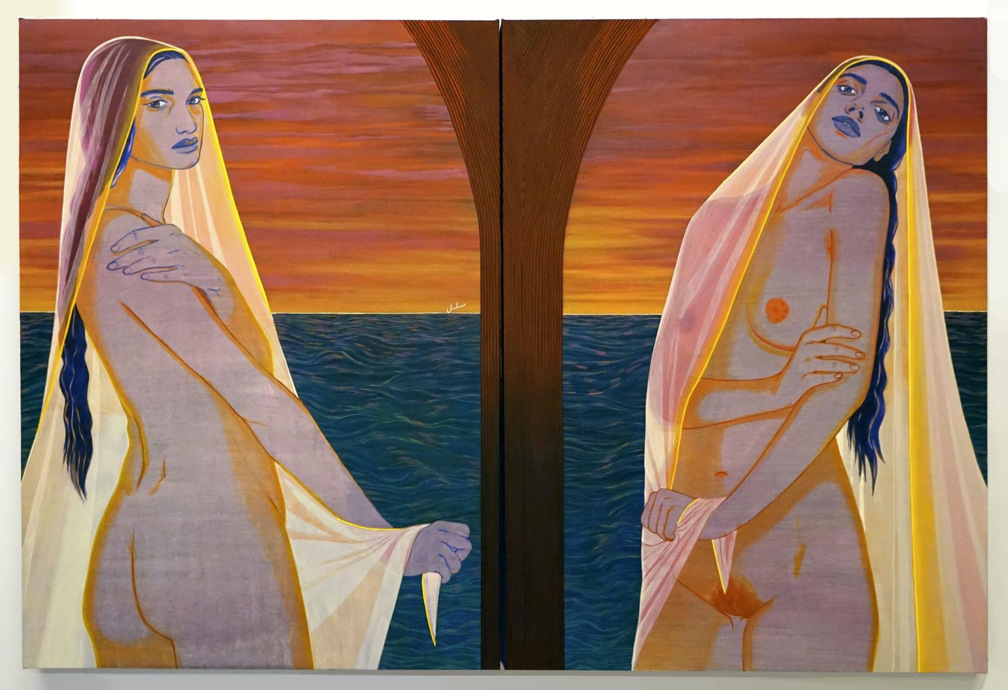 Nadia Waheed painting