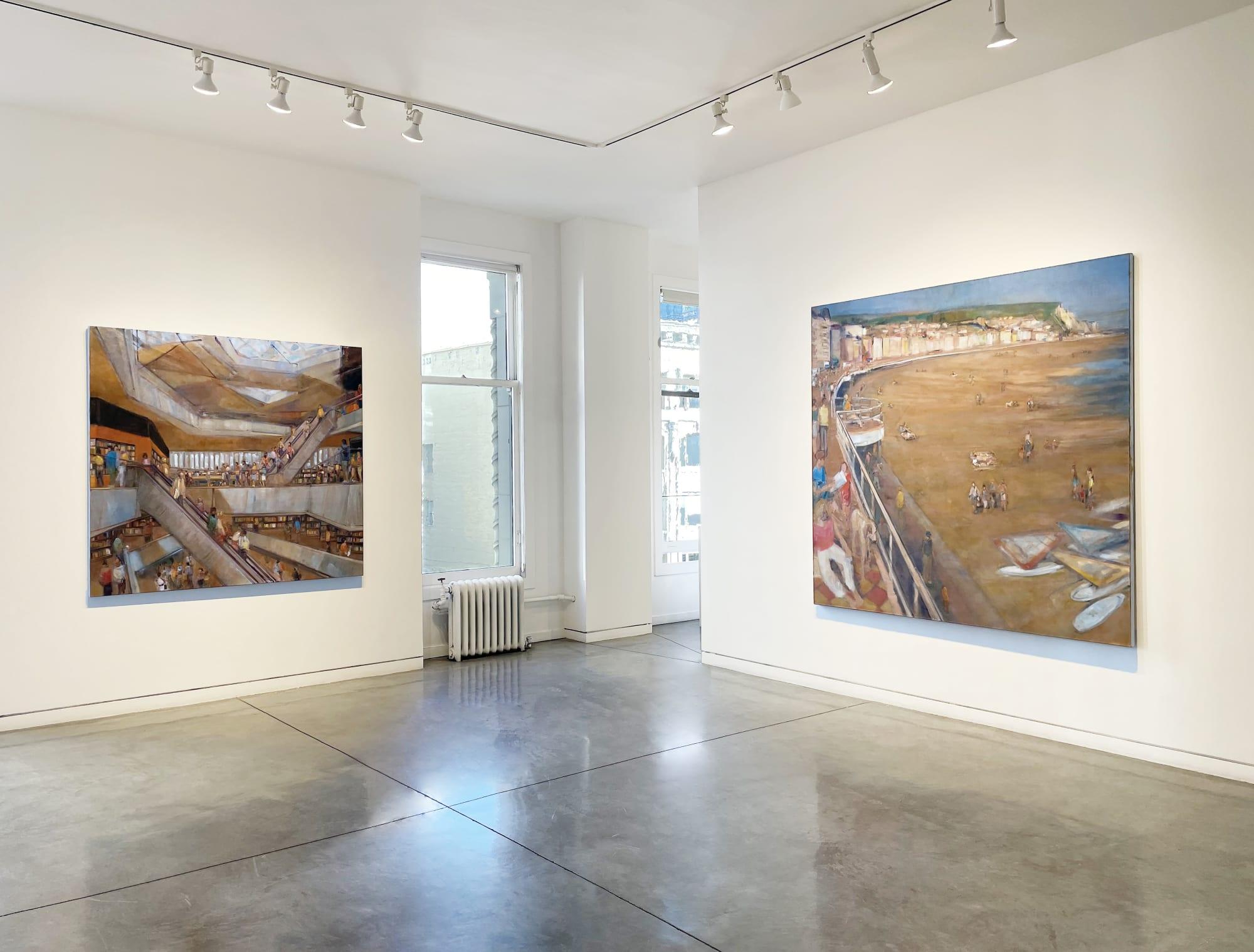 Gatherings: Recent Paintings by Simon Nicholas
