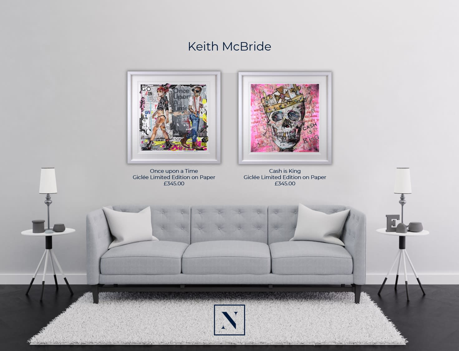 Keith McBride: BRAND NEW LAUNCH