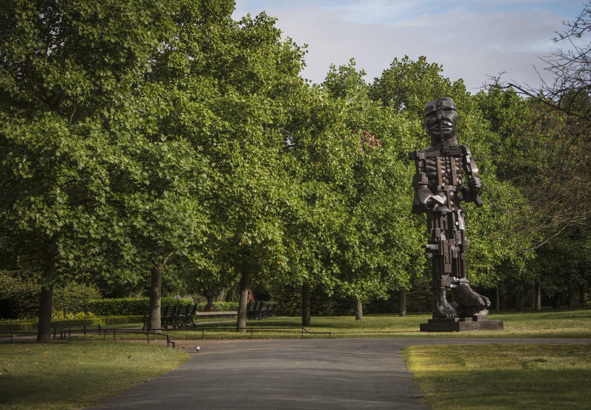 Sir Eduardo Paolozzi: His masterpiece on its way to Edinburgh