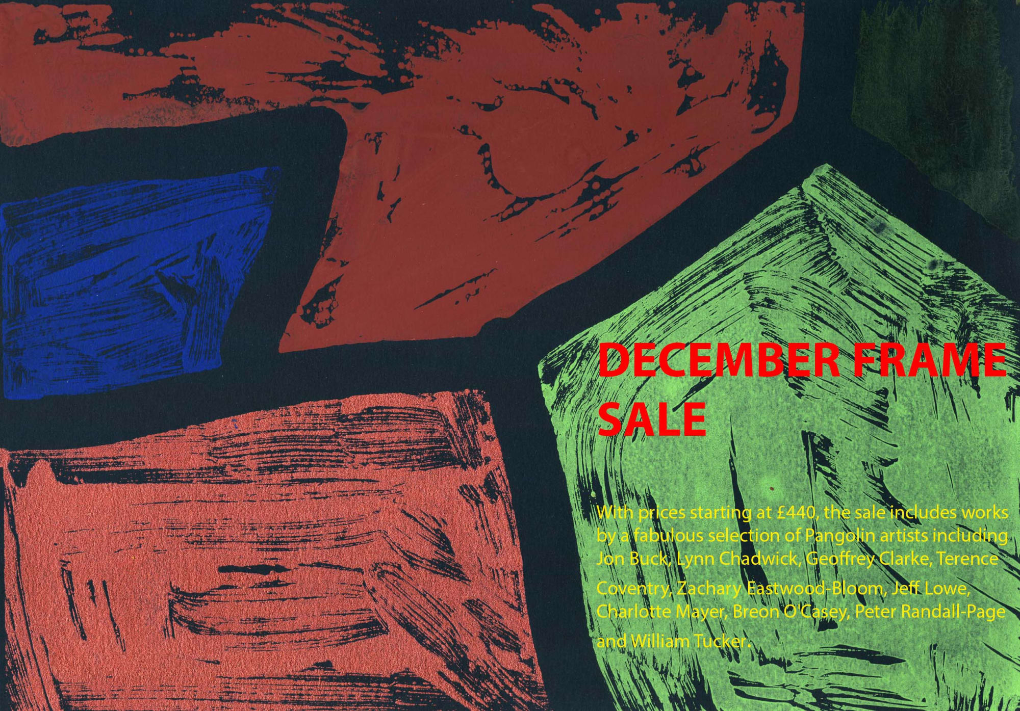 December Frame Sale: buy a beautiful print or drawing and get the frame for free!