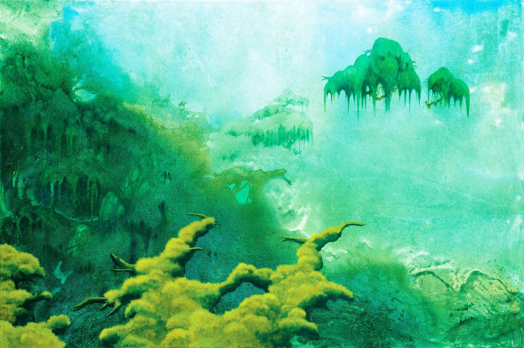 Welcome to The Gallery: Featuring the iconic artwork of Roger Dean.