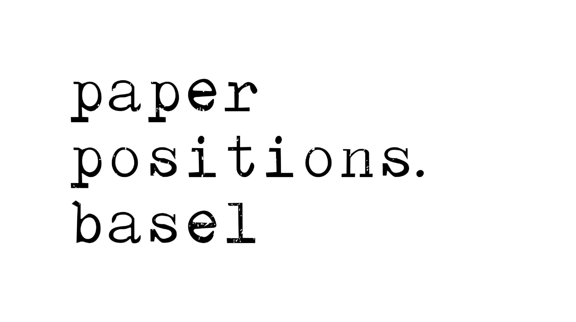 Paper Positions Basel 2021