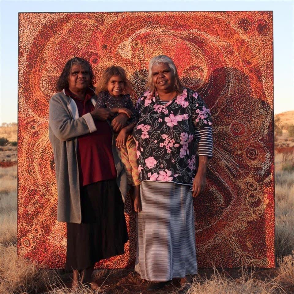 NYUNMITI BURTON & FAMILY