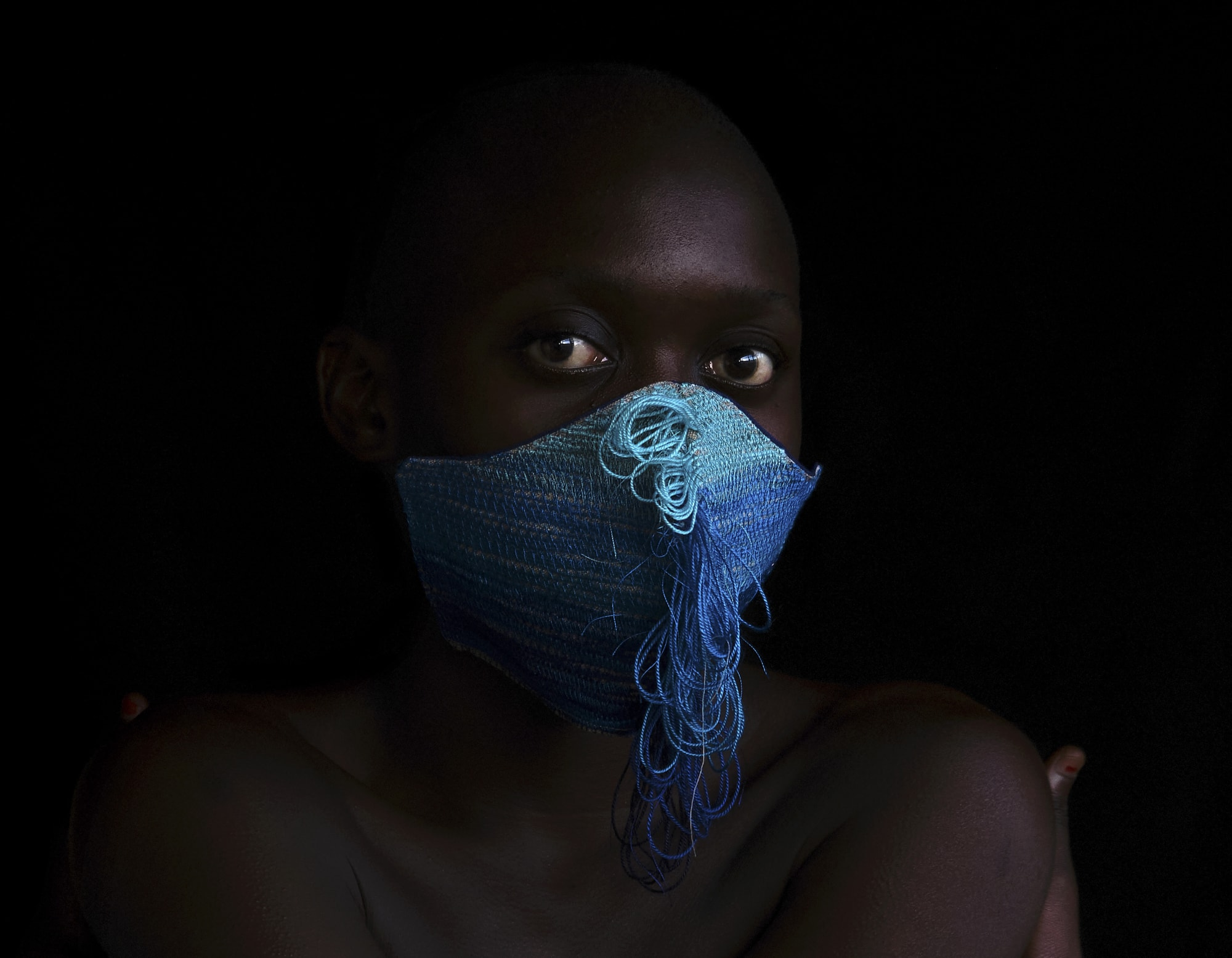 The Mask Project: Nonzuzo Gxekwa X Pierre le Riche