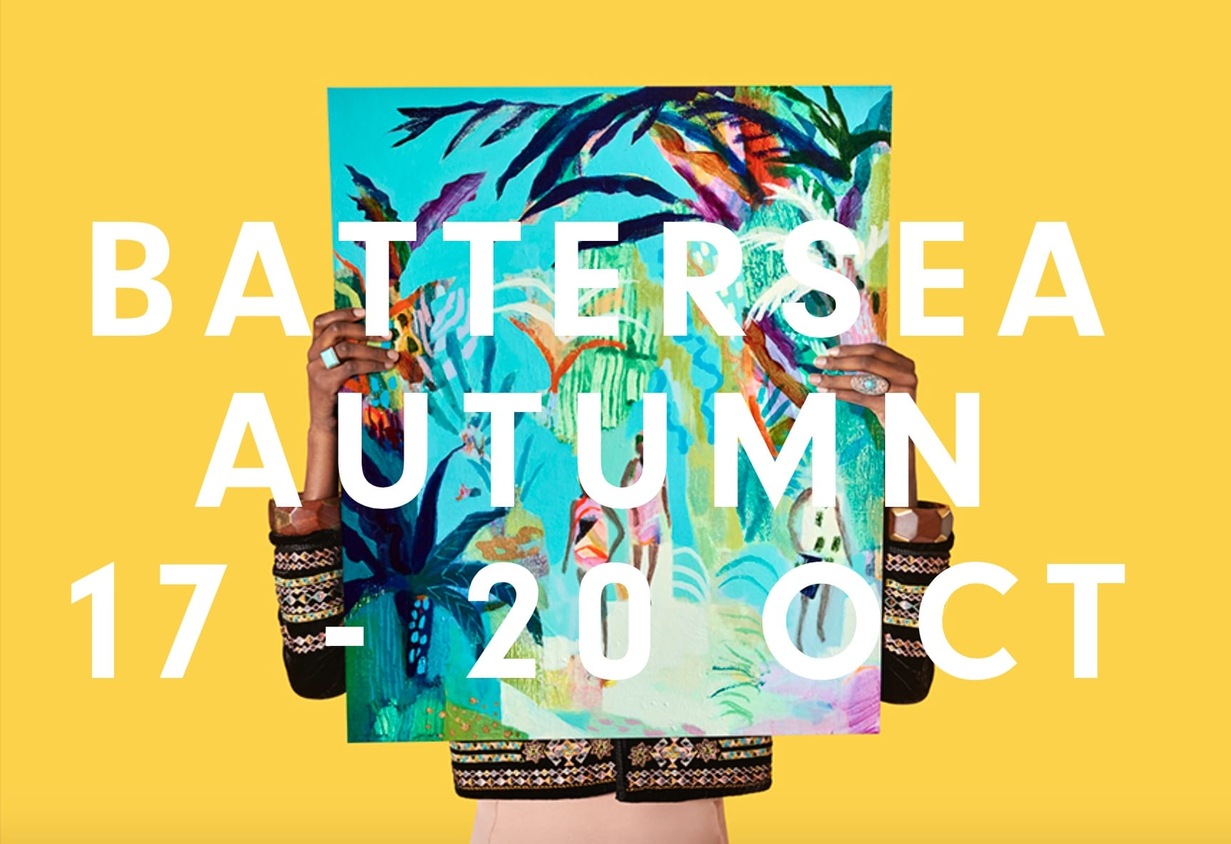 AFFORDABLE ART FAIR: Battersea Autumn 2019