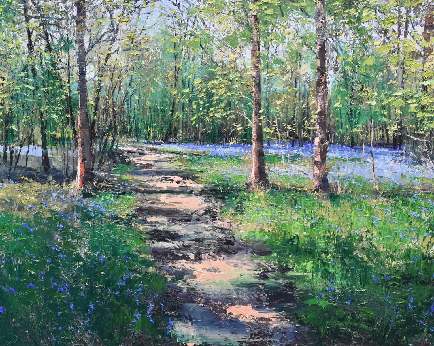 COLIN CARRUTHERS: WOODLAND SHADOWS
