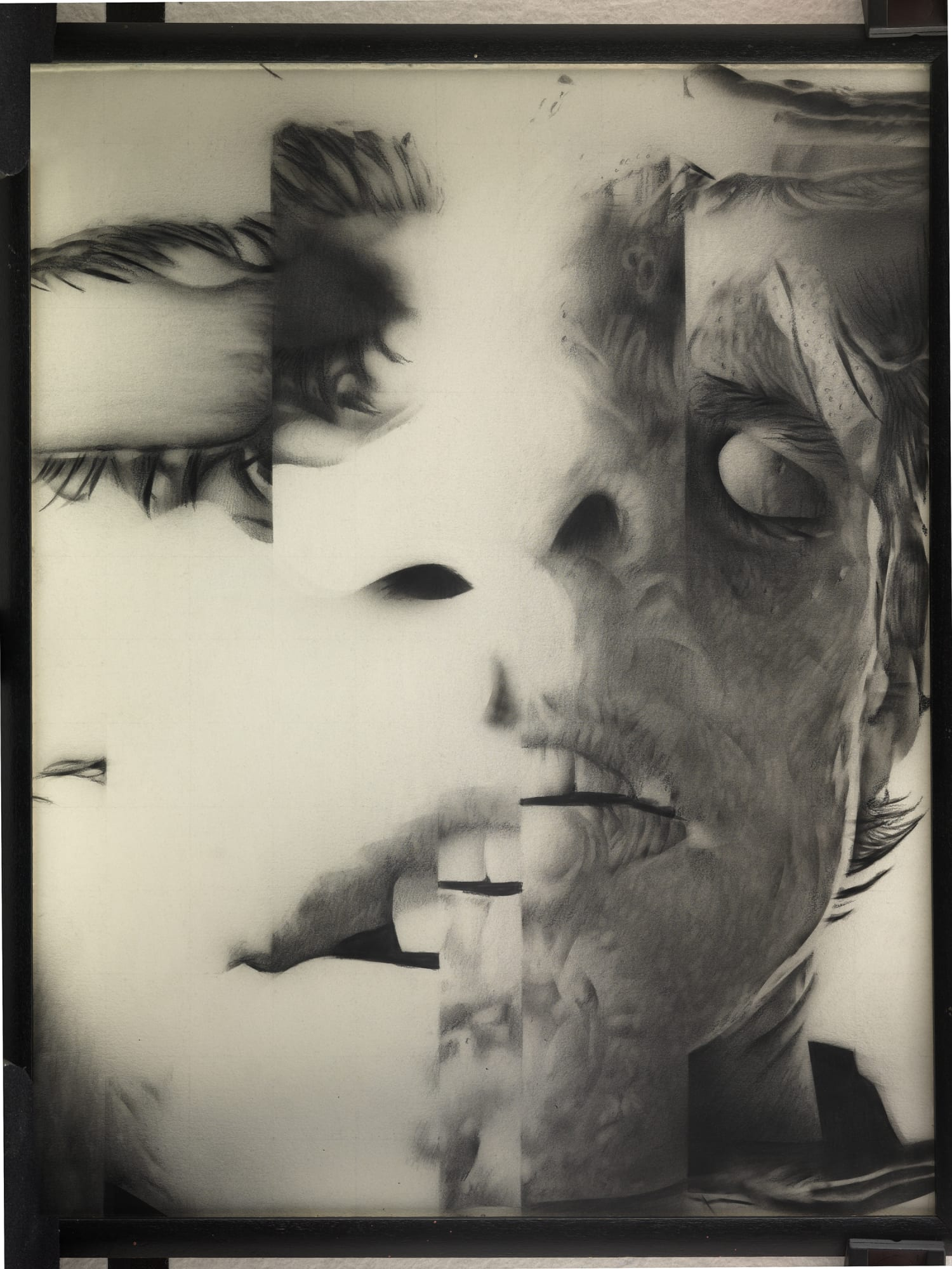 Jim Shaw, »Untitled (distorted faces series)«, 1985