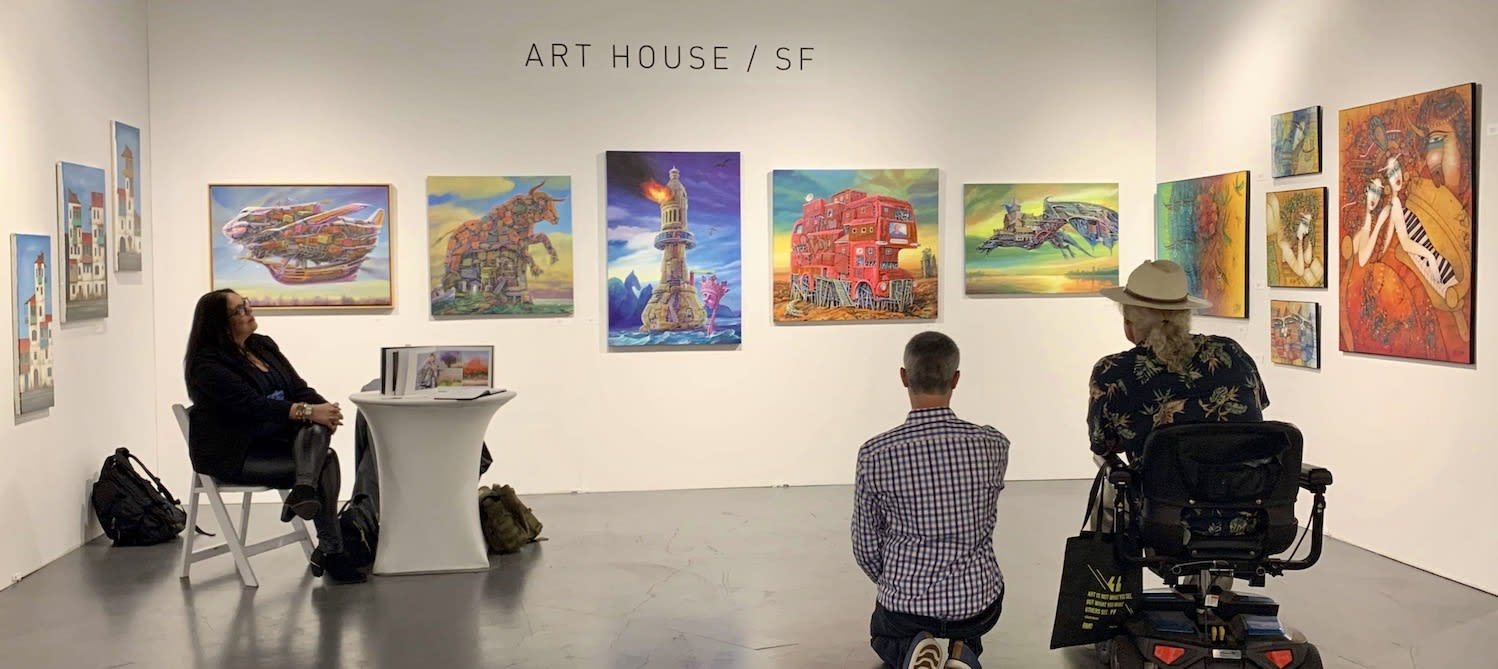 Art San Diego 2019: Taking it in