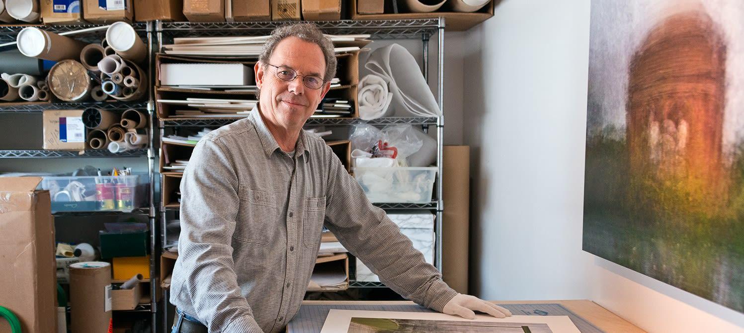 Pep Ventosa: In his studio