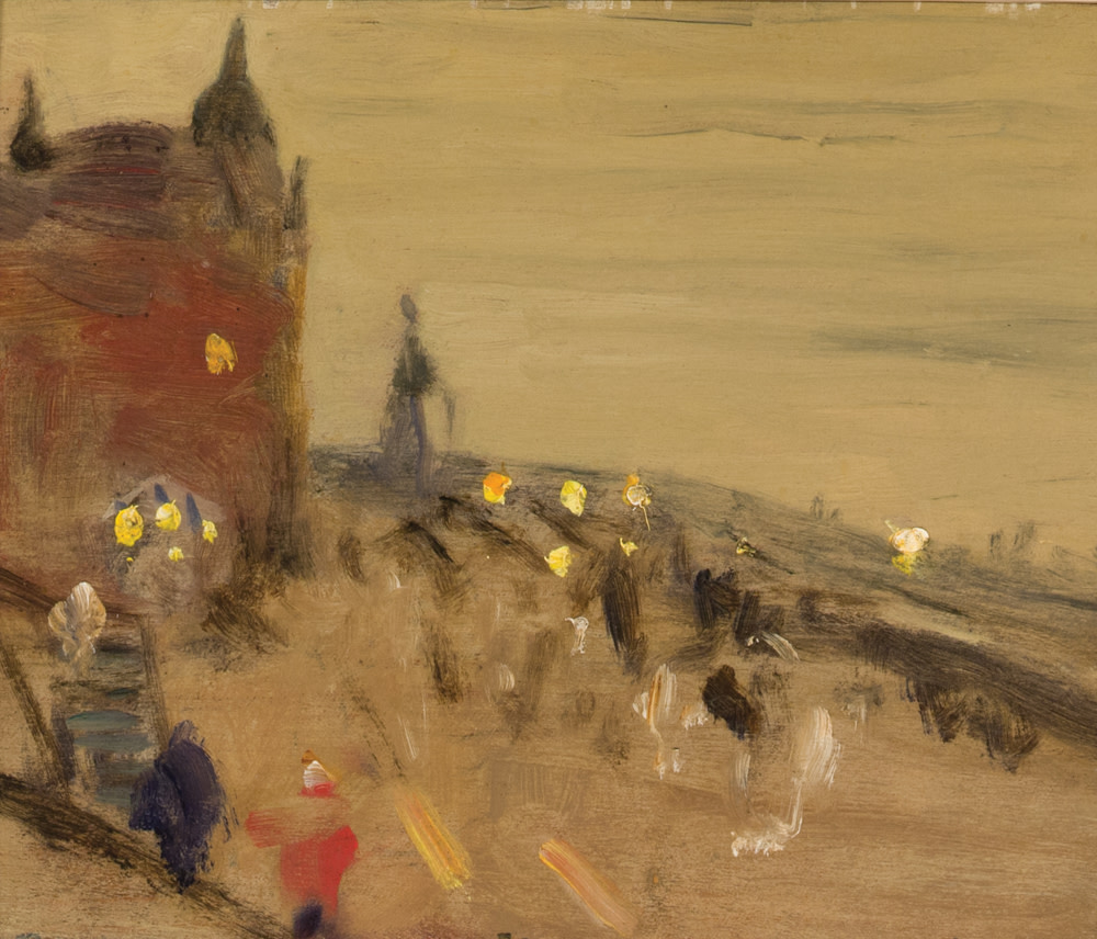 Ca s'est passé en août ! Alanklinkhoffgallery-james-wilson-morrice-the-promenade-ch-teau-frontenac-quebec-1910-circa