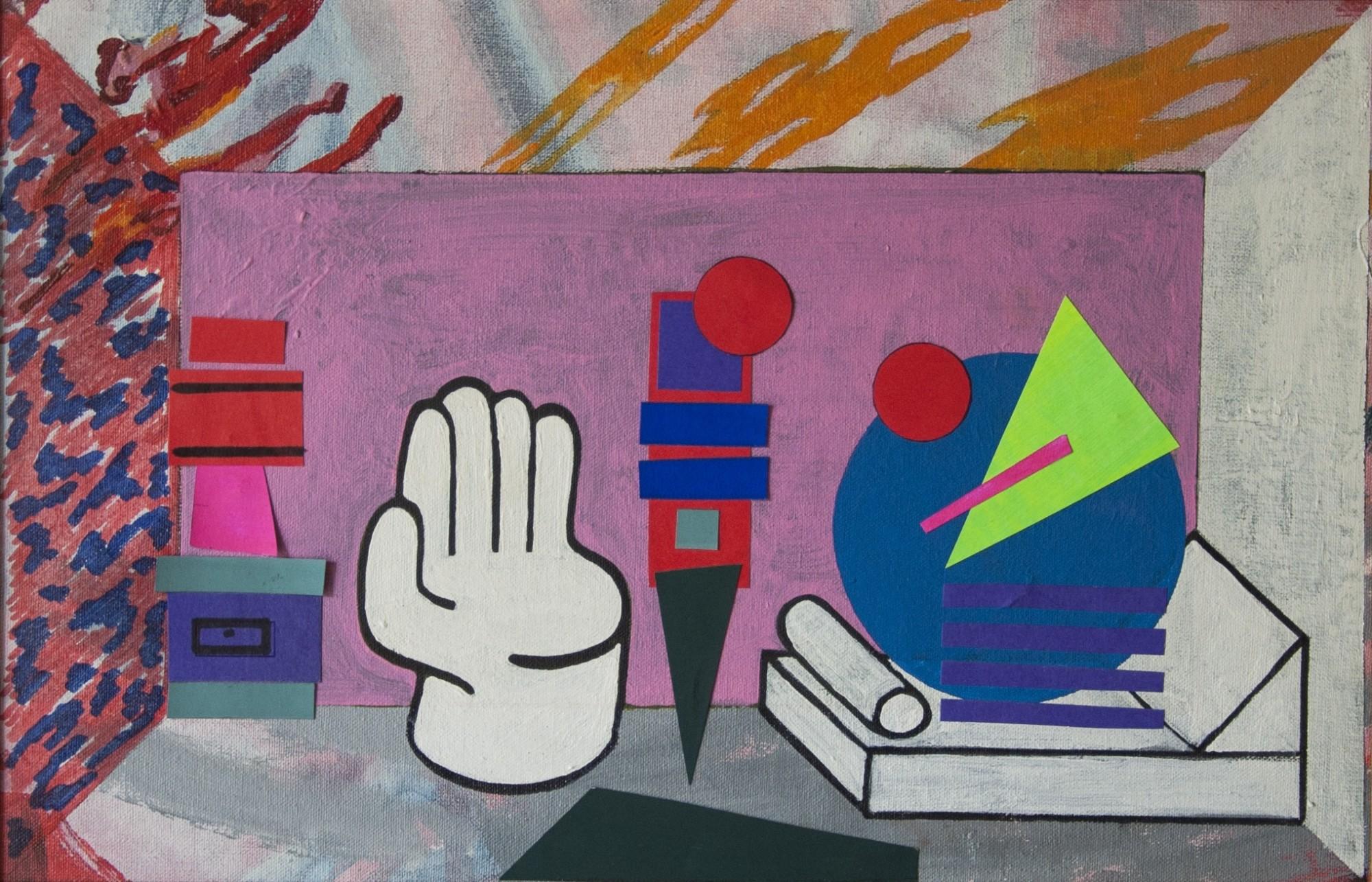 Ad Minoliti, Living con Mano, 2013