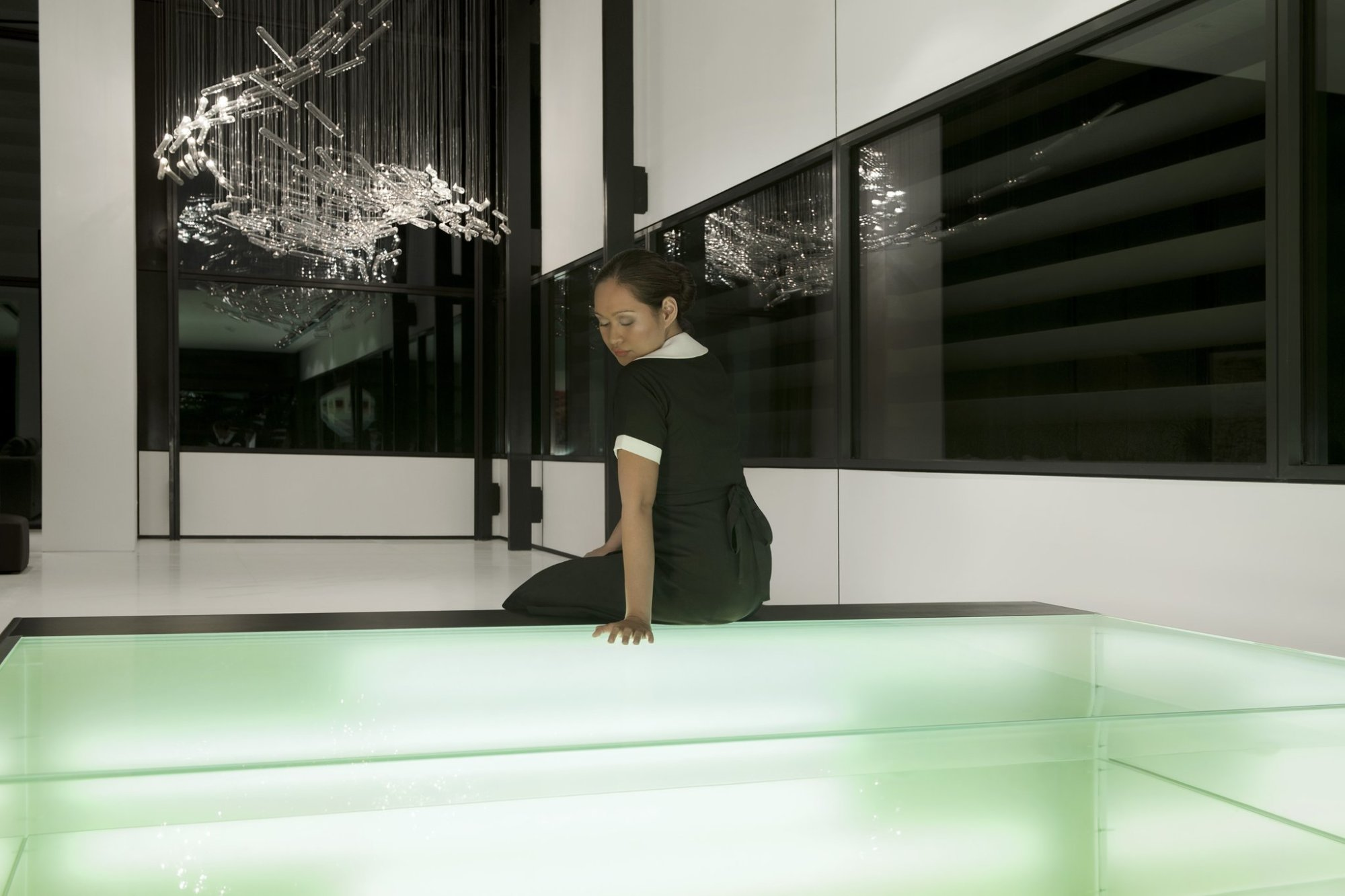 Isaac Julien, THE MAID / REFLECTIONS (Playtime), 2014