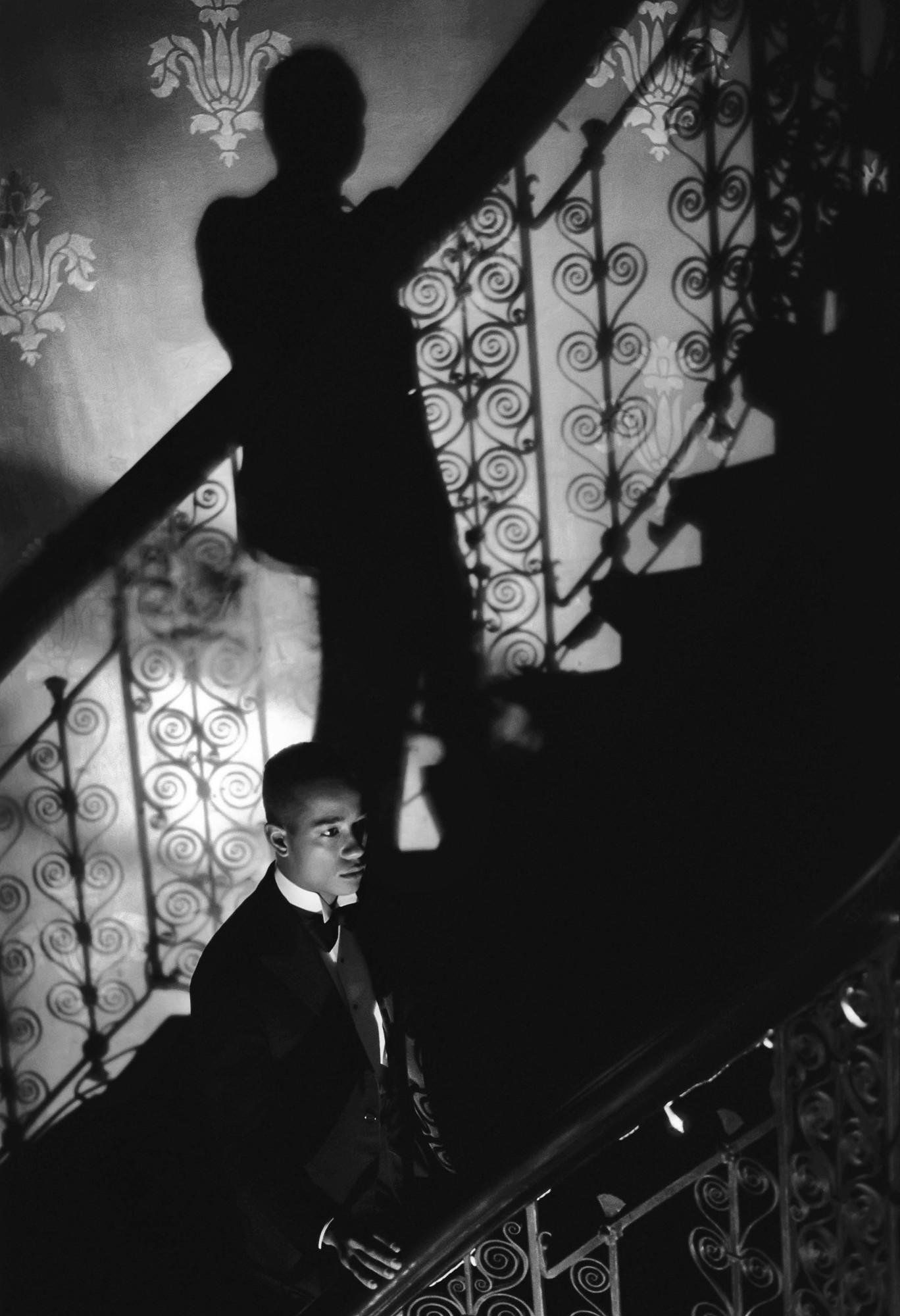 Isaac Julien, Film-Noir Staircase (Looking for Langston Vintage Series), 1989/2016