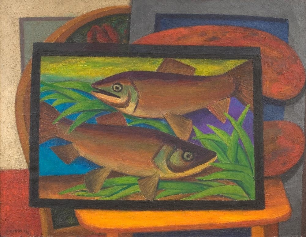Mark Gertler, Fishes, 1937 | Piano Nobile