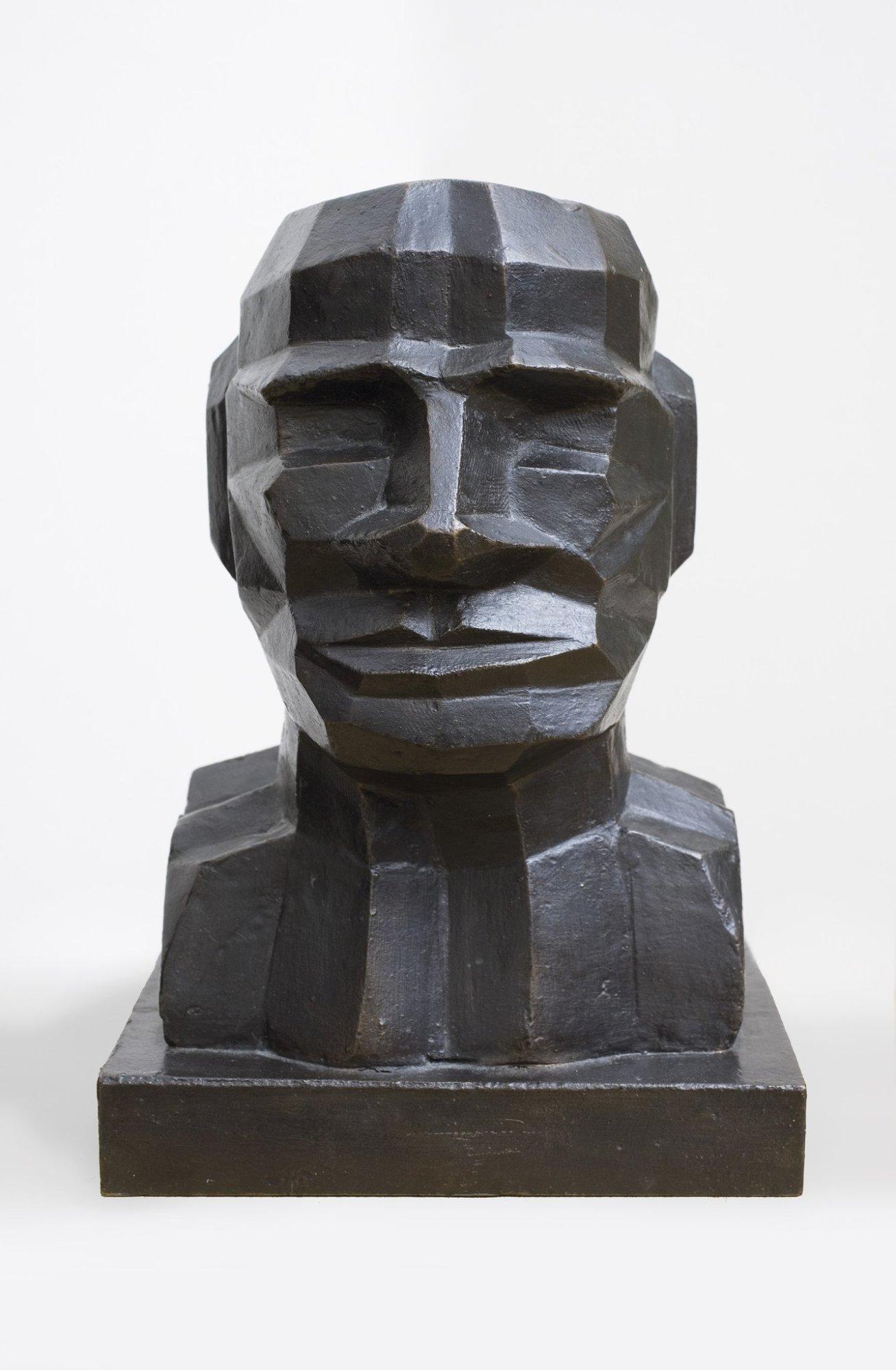 Sir Eduardo Paolozzi Head Self Portrait 1992 Piano