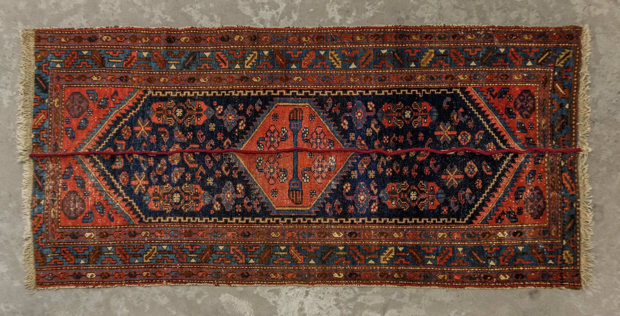 Nazgol Ansarinia, Mendings Carpet, 2010