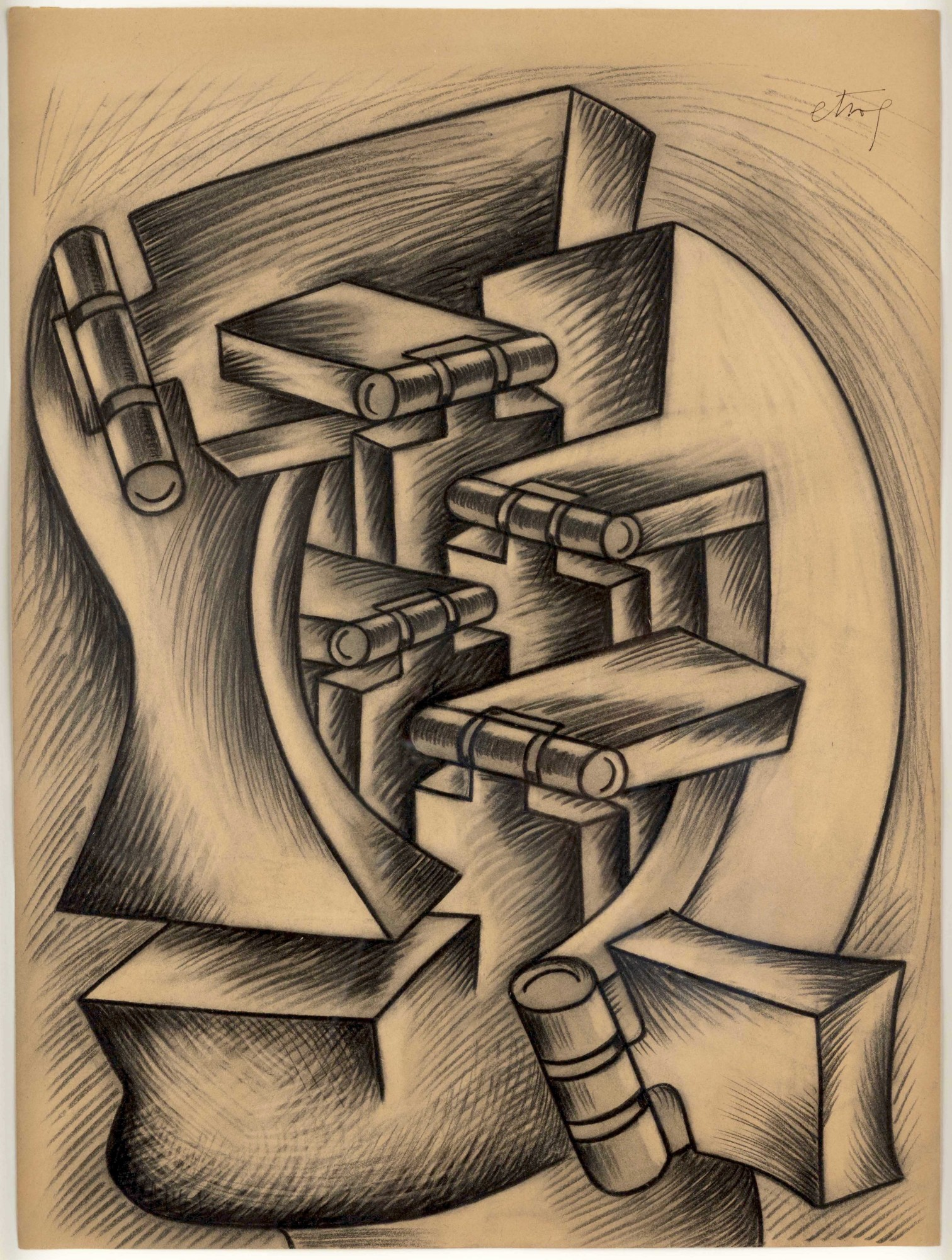Homage to Tristan Tzara, 1974-75
