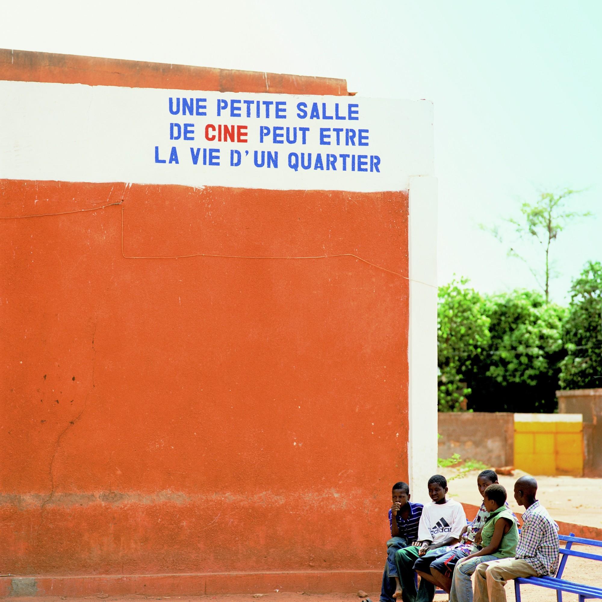 Fantôme Créole Series (La Vie D'Un Quartier), 2005  Lamda print on gloss paper  119.5 x 119.5 cm 47 1/8 x 47 1/8 in