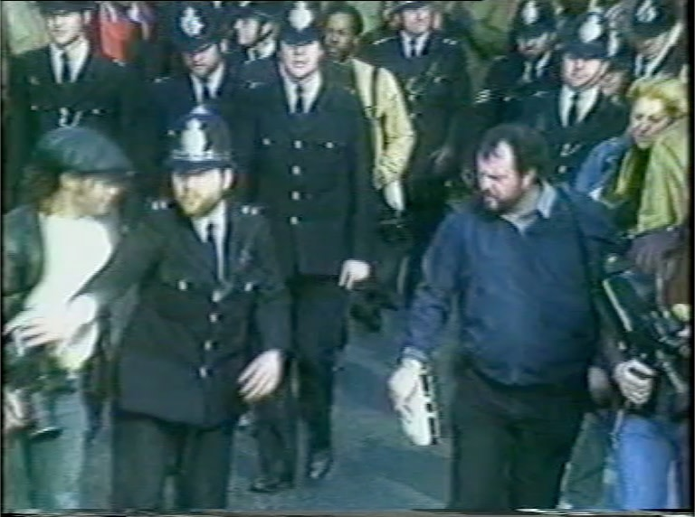 Roy Cornwall (later DOP in Territories) is harassed by the police