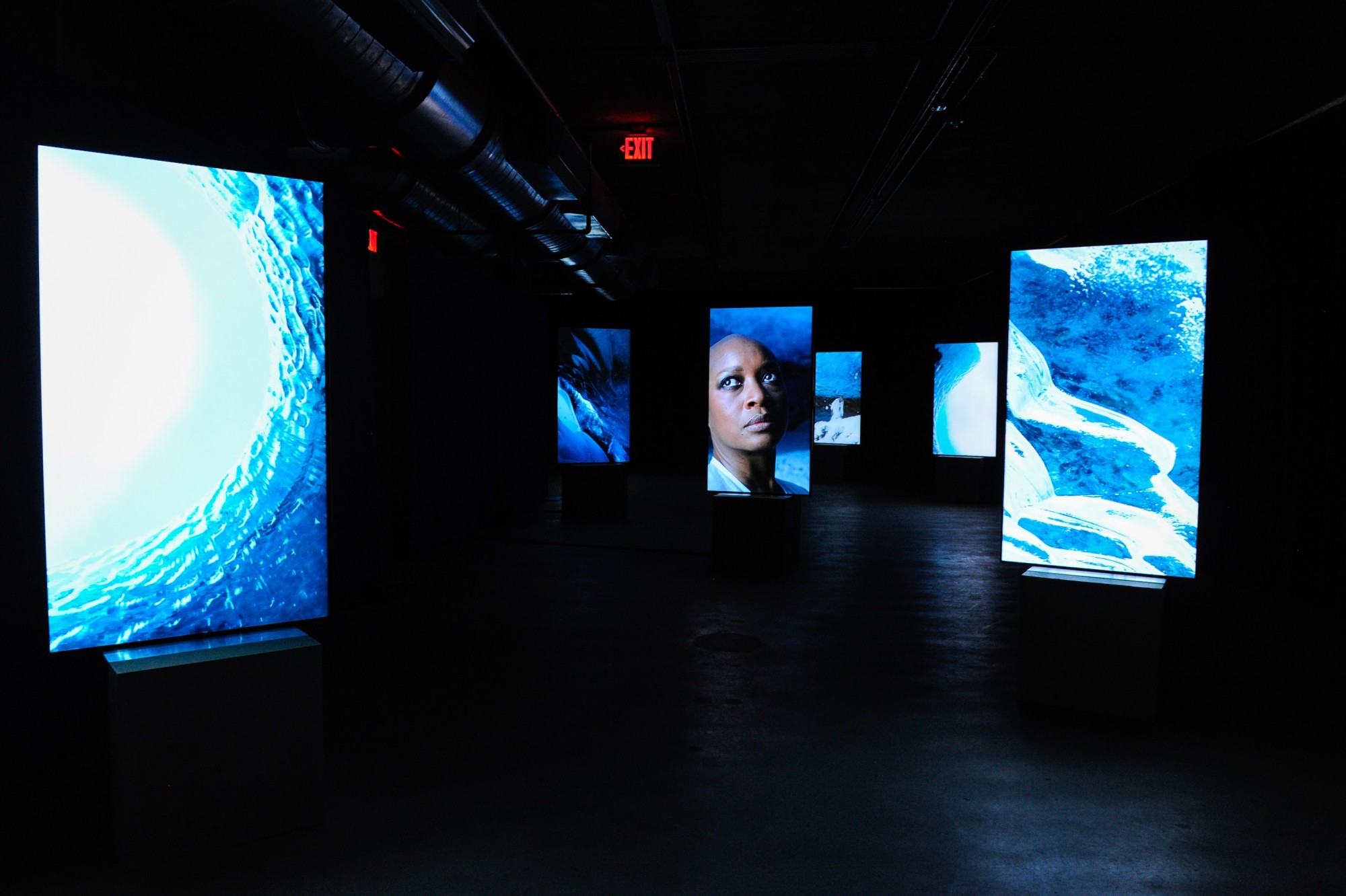 Stones Against Diamonds, Rolls-Royce Arts Programme. National YoungArts Foundation, Miami, 2015  58'28'', high definition video on 15 portrait screens, colour, stereo sound