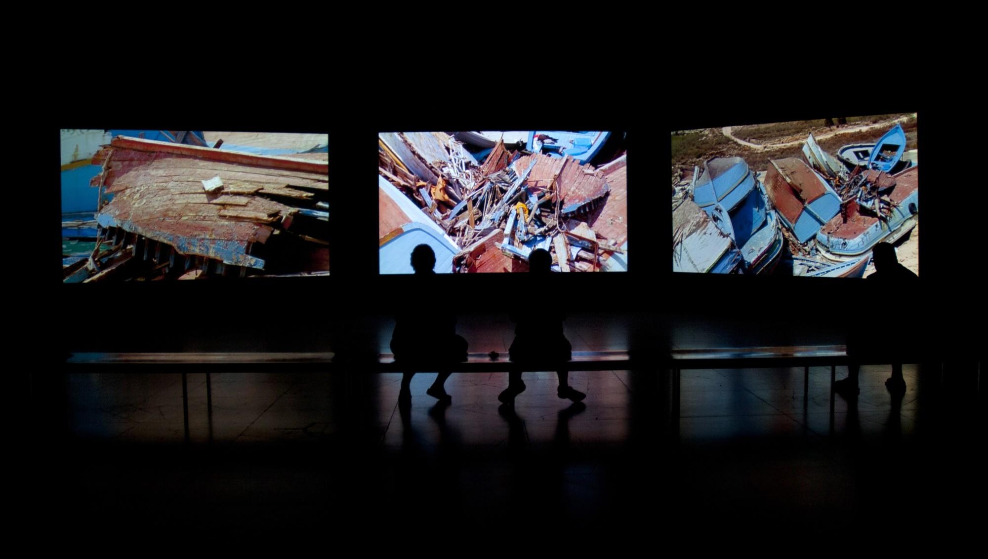 Videosphere: A New Generation. Albright-Knox Art Gallery, Buffalo, 2011