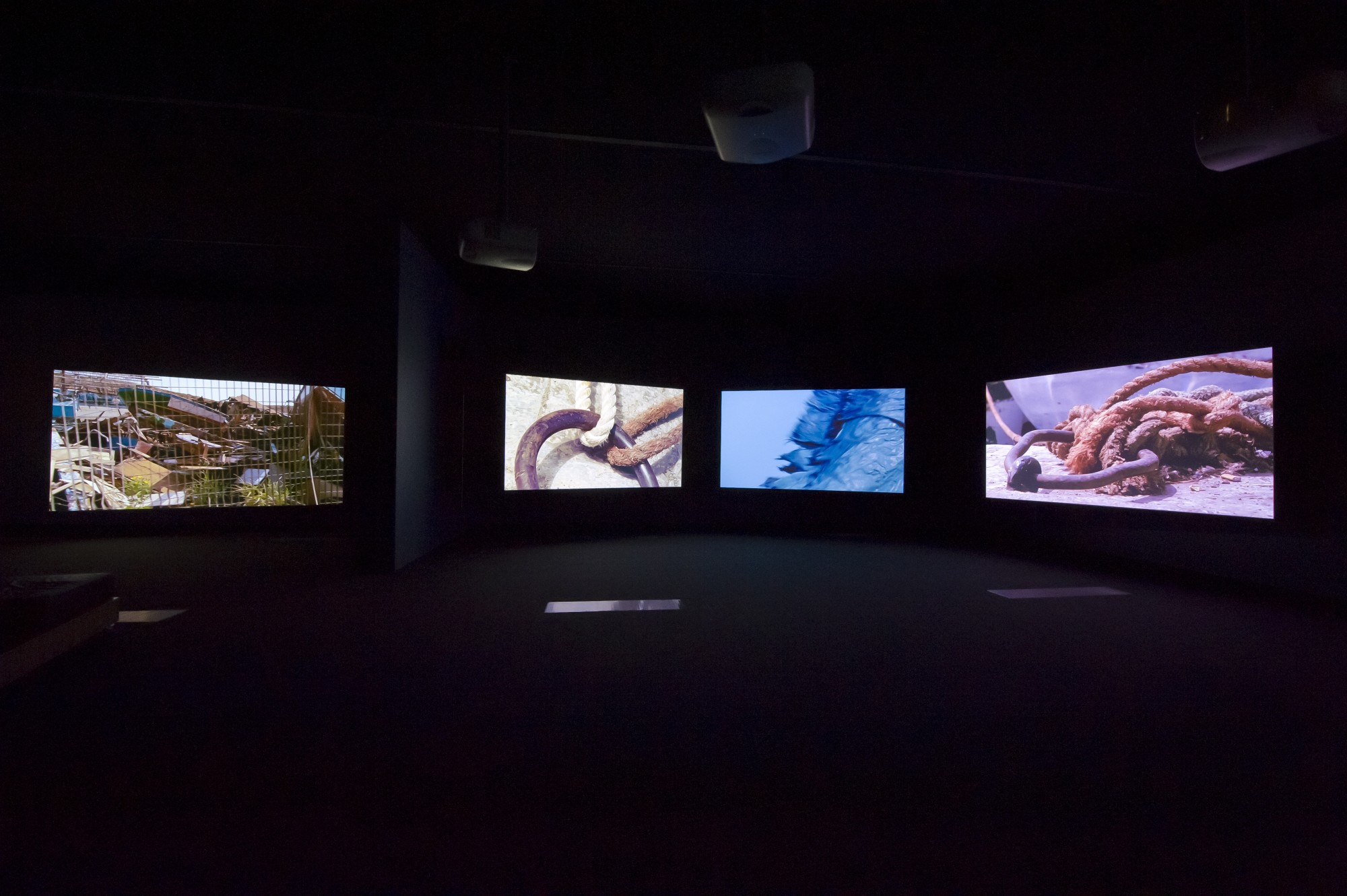 Constellations of Culture and History. Gallery of Modern Art Brisbane, 2011  18'22', five-screen film installation, 16mm film transferred to digital, colour, 5.1 sound