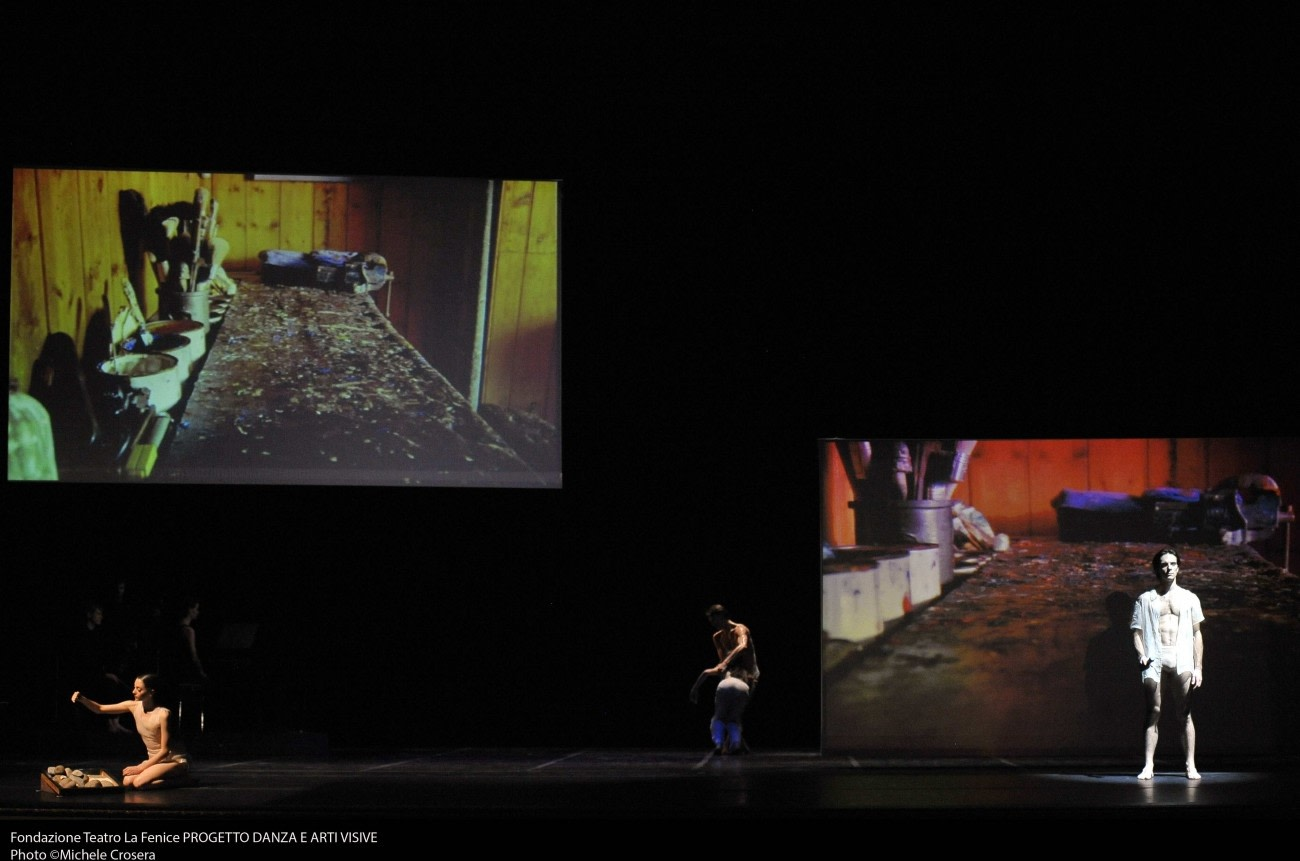 Dungeness Redux. Teatro La Fenice, Venice, 2014  Film installation by Isaac Julien and choreography by Patrick Eberts