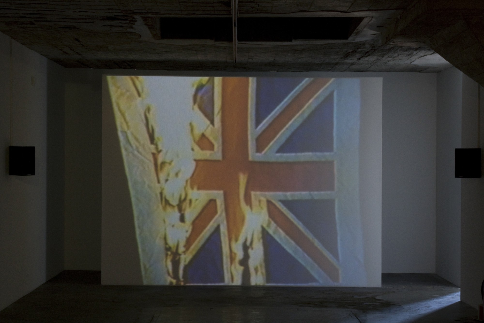 Grand National: Art From Britain. Vestfossen Kunstlaboratorium, Øvre Eiker, Norway, 2010  24'06'', single-screen projection, 16mm film transferred to digital, colour, sound