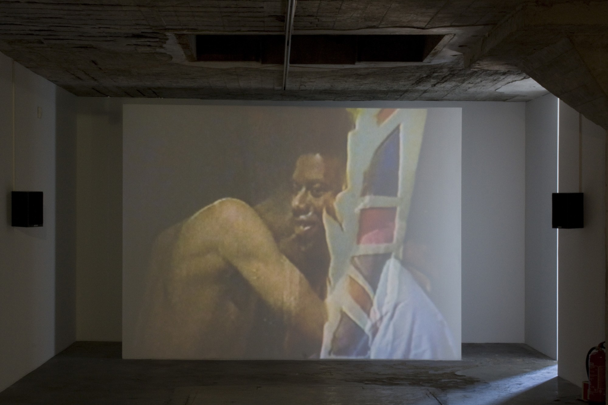 Grand National: Art From Britain. Vestfossen Kunstlaboratorium, Øvre Eiker, Norway, 2010  24'06'', single-screen projection, 16mm film transferred to digital, colour, sound