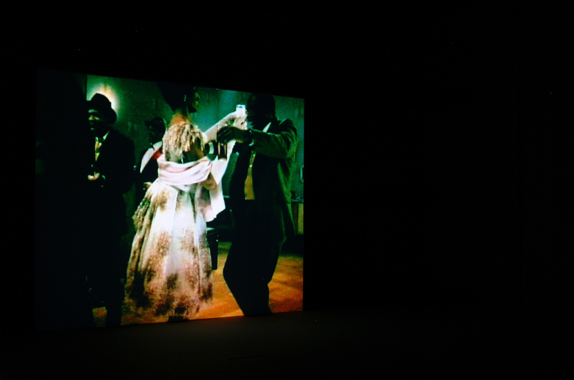 Black Box. Edinburgh College of Art, 2003  20' 29'', 16mm film transferred to digital, colour, sound