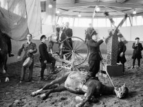 Amsterdamse politie paardentraining, 1955, 1955