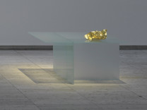 One bar of gold, breathed #1, 2016